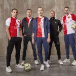 Výšivky oficiálních dresů Slavia Praha ve spolupráci s Puma a Sportisimo
